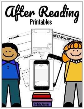 After Reading Printable Activities