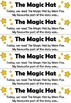 The Magic Hat by Mem Fox: After Reading Reflection Activity