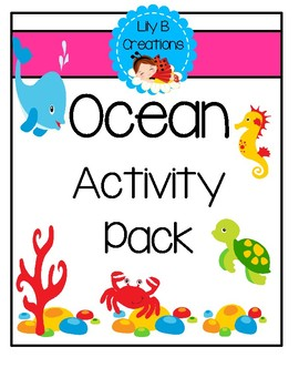 After School Activity Pack - Ocean Theme
