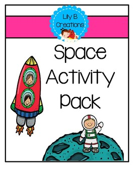 After School Activity Pack - Space Theme