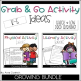 Literacy and Physical Activity Ideas Bundle