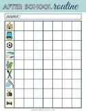 After School Routine Printable Checklist [FREE]