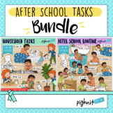 After School Routine and Chores Clipart