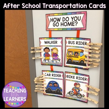 {FREE} After School Transportation Cards