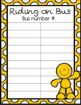 After School Transportation Pack