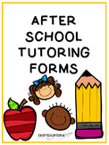 After School Tutoring Form