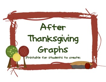 After Thanksgiving Graphs