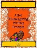 After Thanksgiving Writing Prompts