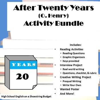 After Twenty Years Activity Bundle (O. Henry) - Word