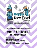 After Winter Break Activity Packet- January Activities