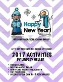 After Winter Break Activity Packet- January Activities