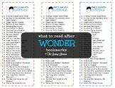 After Wonder Bookmarks
