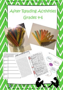 After-reading Activities for Grades 4 to 6