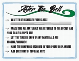 After the Bell Expectations Poster