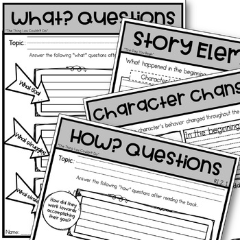After the Fall Activities Guided Reading Ask and Answer Questions