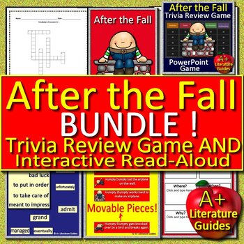 After the Fall BUNDLE - Book Guide AND Review Game - Print AND Paperless
