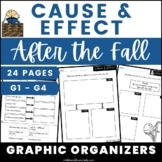 After the Fall Cause & Effect Graphic Organizers
