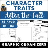 After the Fall Character Traits Graphic Organizers