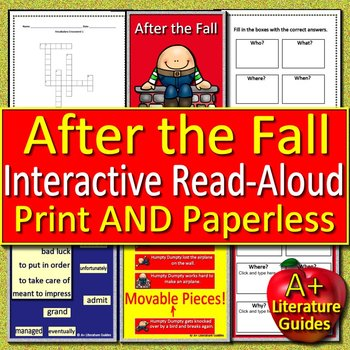 After the Fall Interactive Read Aloud (How Humpty Dumpty Got Back Up Again)