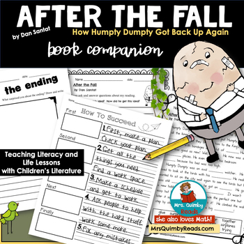 After the Fall [by Dan Santat] | Reader Response Pages | Book Companion