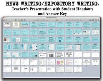 "Journalism: News Writing ""How To"" Keynote Presentation"
