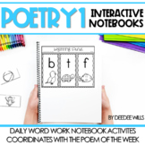 Poetry Interactive Notebooks