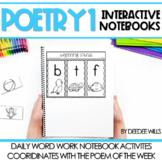 Poetry Interactive Notebooks