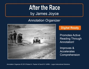 """""""After the Race"""" by James Joyce: Annotation Organizer"""