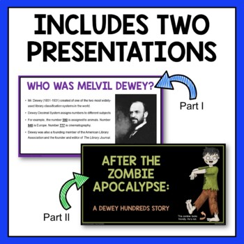 Dewey Decimal Activity with Zombies