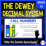Dewey Decimal Activity with Zombies