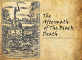 Aftermath and Consequences of the Black Death PowerPoint and Worksheet (ACARA)