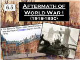 Aftermath of WWI & the Russian Revolution Powerpoint & Notes (6.5)