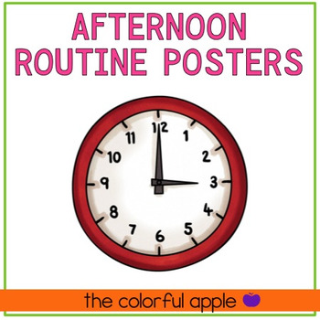 Afternoon Routine Posters