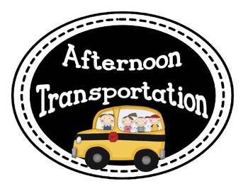 Afternoon Transportation Signs