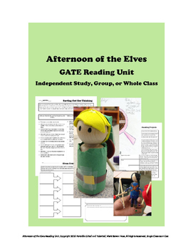 Afternoon of the Elves GATE Unit for Independent Study or