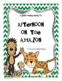 Afternoon on the Amazon-The Magic Tree House A Guided Reading Activity