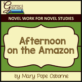 The Magic Tree House Series: Afternoon on the Amazon for Grammar Gurus
