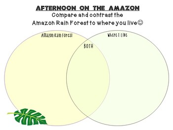 Afternoon on the Amazon by Mary Pope Osborne:  A Complete Literature Study!