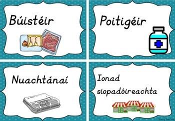 Ag Siopadóireacht - Irish Pack