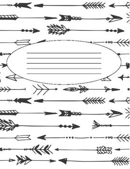 Ag Teacher Planner - Arrows