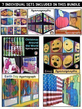 Agamograph BUNDLE (7 Sets) Including Mother's Day, Father's Day and More!
