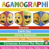 Agamograph BUNDLE (7 Sets) w/Designs for Fall, Halloween & Johnny Appleseed