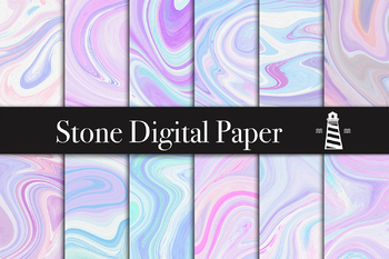 Agate Backgrounds, Unicorn Marble Textures