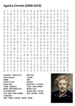 Agatha Christie Handout