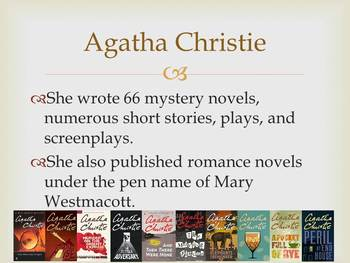 Agatha Christie Introduction PowerPoint