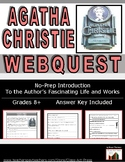 Agatha Christie, Queen of Crime: Life & Works WebQuest