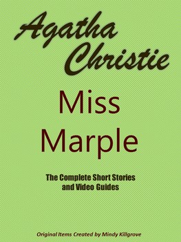 Agatha Christie's Miss Marple: The Complete and Editable Unit