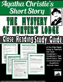 "Agatha Christie: ""The Mystery of Hunter's Lodge""--Close Re"