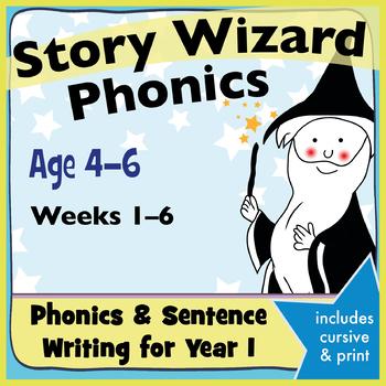 Age 4–6 Phonics & Sentences: 1st Six Weeks Phonics