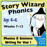 Age 4–6 Phonics & Sentences: 2nd Six Weeks Phonics